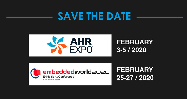 Trade fairs planned for February 2020!