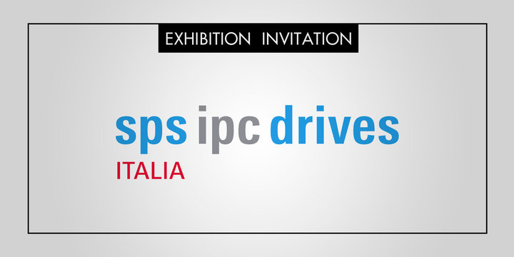 Italtronic vi invita alla fiera SPS IPC DRIVES ITALIA 2015