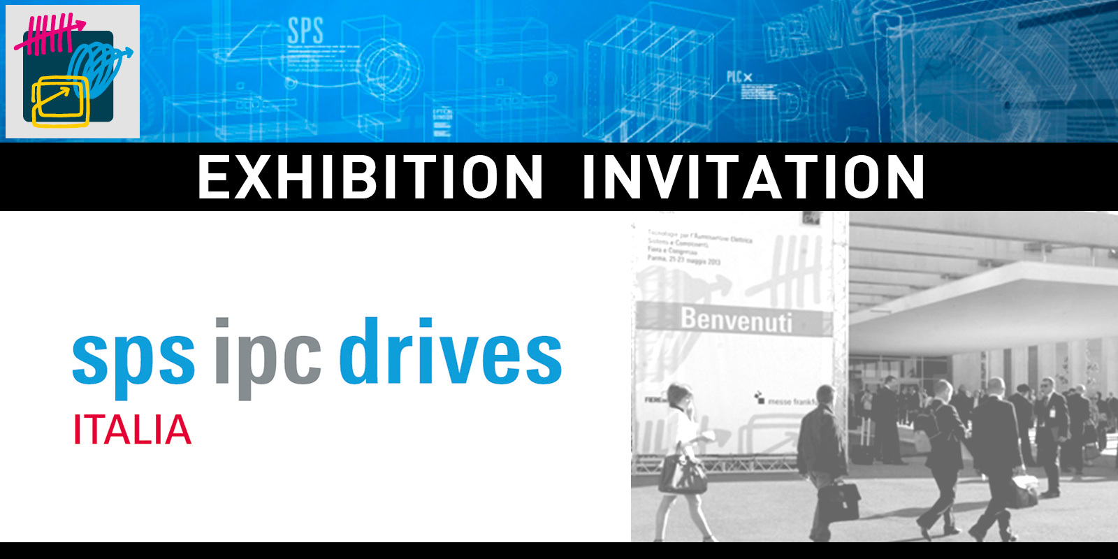 Italtronic invites you at SPS IPC DRIVES ITALIA 2016