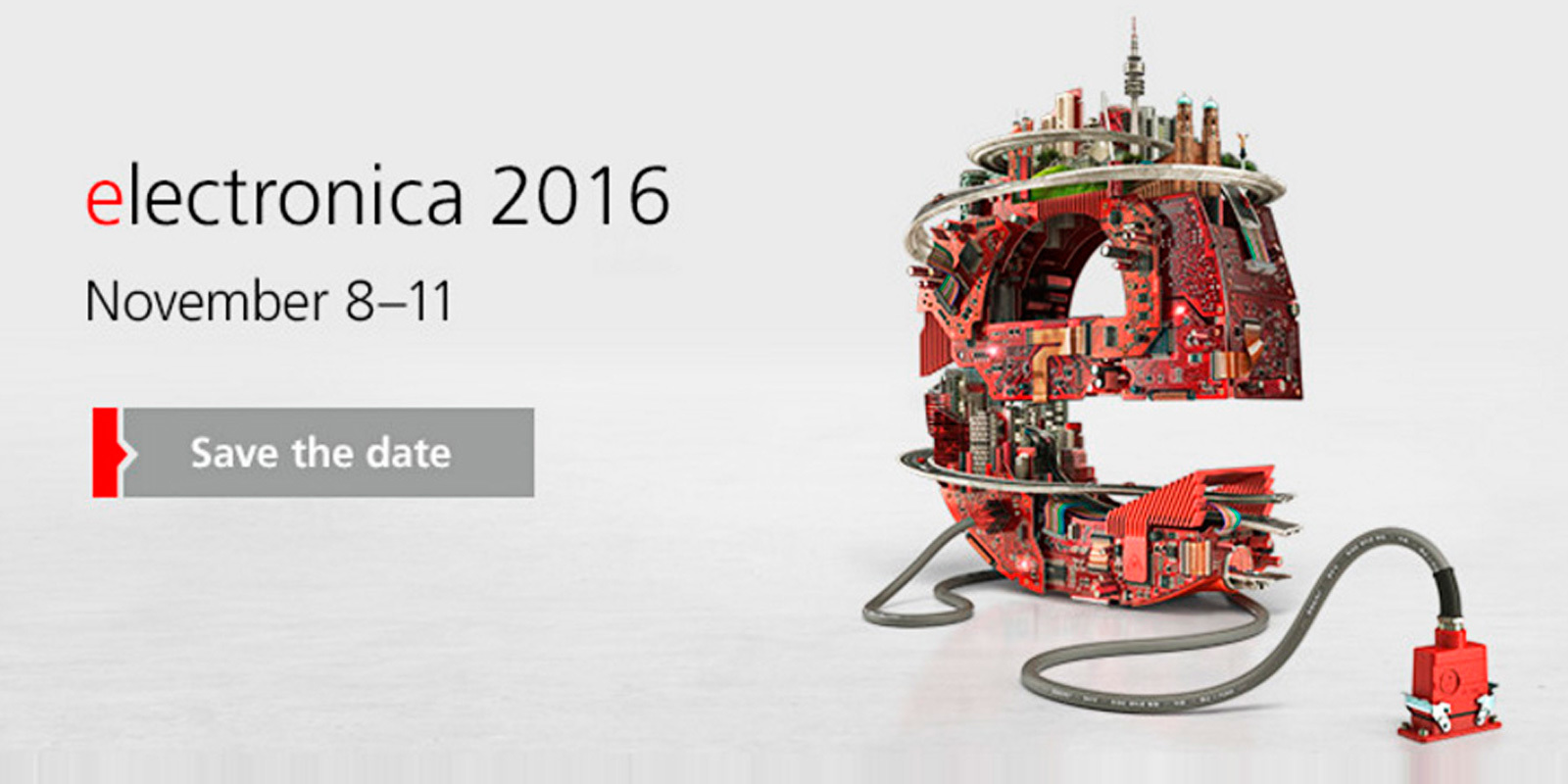 Italtronic invites you at ELECTRONICA 2016 – Munich – Germany