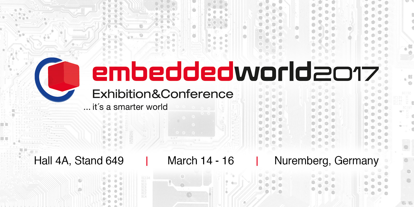 Italtronic invites you at EMBEDDED WORLD 2017 Nuremberg • Germany