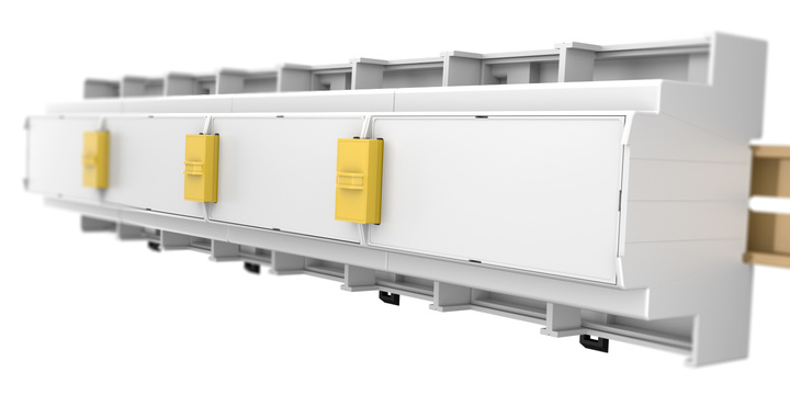 THE ULTIMATE SOLUTION FOR YOUR APPLICATION ON DIN RAIL WITH BUS