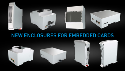 NEW ENCLOSURES FOR EMBEDDED CARDS