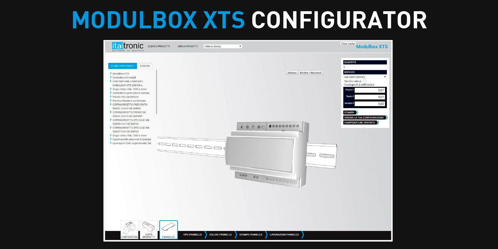 THE MODULBOX XTS CONFIGURATOR IS FINALLY AVAILABLE!