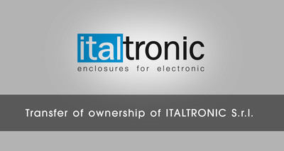 Transfer of ownership of ITALTRONIC S.r.l.